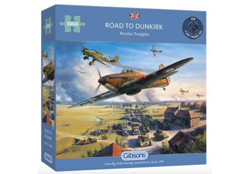 Road to Dunkirk - 1000 pieces