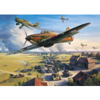 thumb-Road to Dunkirk - jigsaw puzzle of 1000 pieces-2
