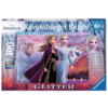 Ravensburger Disney Frozen - Glitter - puzzle de 100 pièces