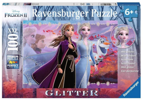 Ravensburger Disney Frozen - Glitter  - 100 stukjes