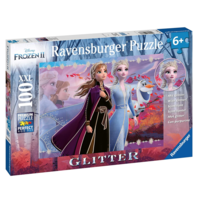 thumb-Disney Frozen - Glitter - puzzle of 100 pieces-2