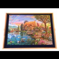 thumb-Planche de puzzle ajustable - pour des puzzles jusqu'à 1000 pièces-4