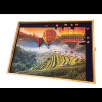 thumb-Planche de puzzle ajustable - pour des puzzles jusqu'à 1000 pièces-2