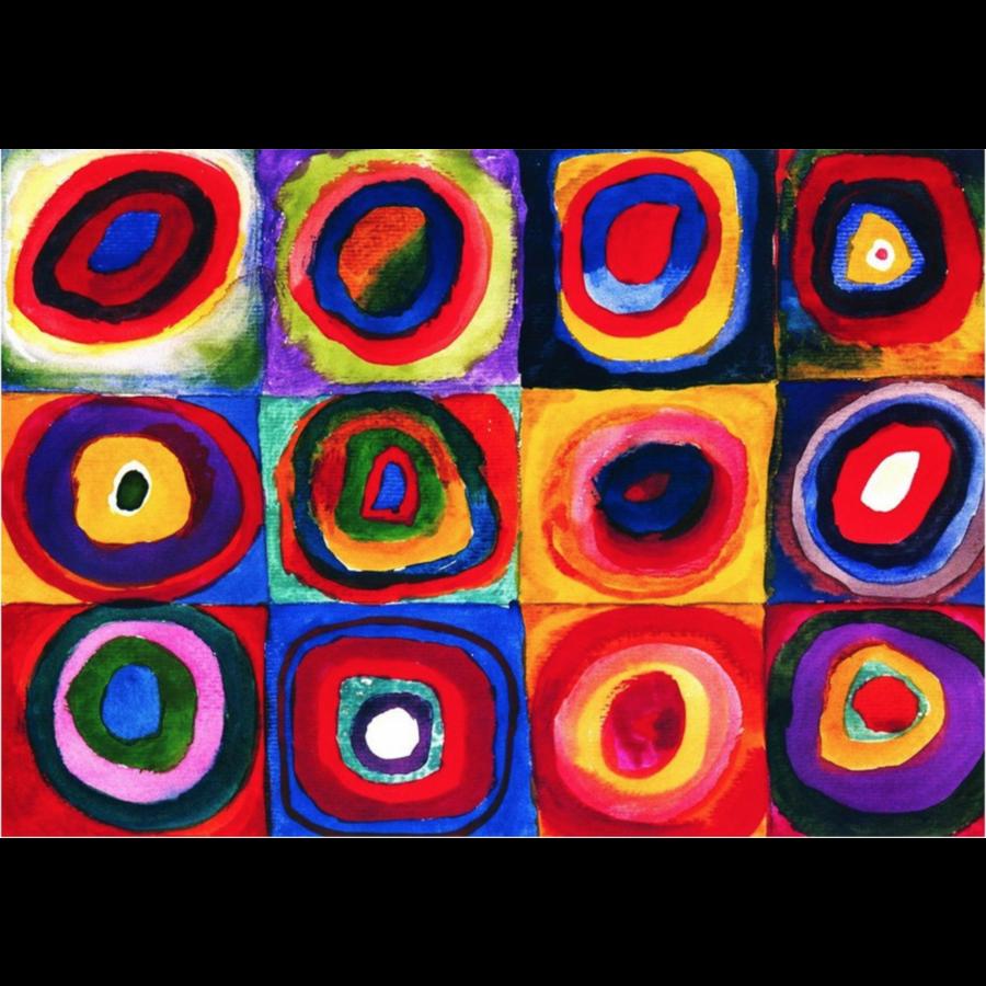 Kandinsky - Etude de couleurs - puzzle de 1000 pièces-2