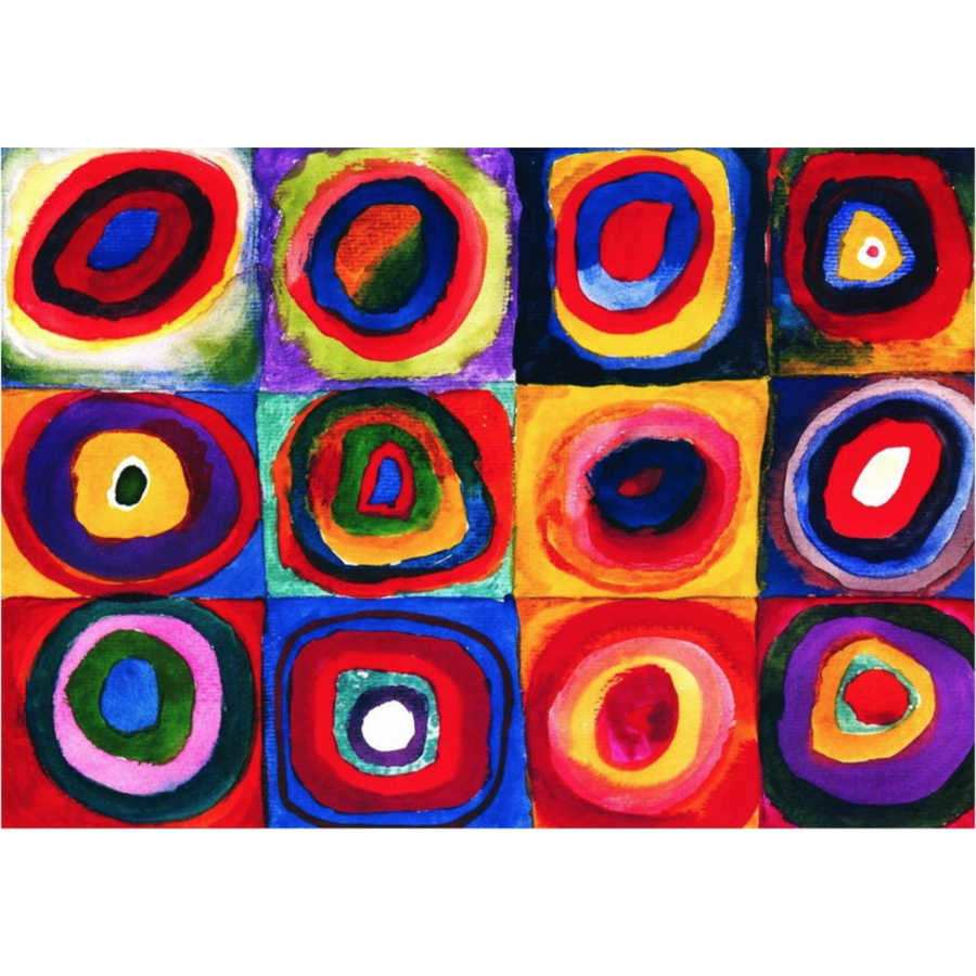 Kandinsky - Kleurenstudie - puzzel van 1000 stukjes-2