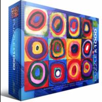 thumb-Kandinsky - Etude de couleurs - puzzle de 1000 pièces-3