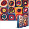 Eurographics Puzzles Kandinsky - Etude de couleurs - puzzle de 1000 pièces