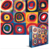 Eurographics Puzzles Kandinsky - Kleurenstudie - puzzel van 1000 stukjes