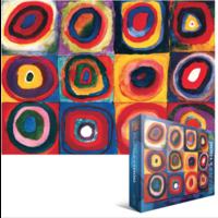 thumb-Kandinsky - Etude de couleurs - puzzle de 1000 pièces-1