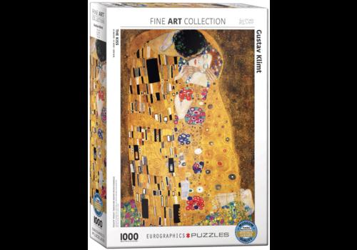 Eurographics Puzzles Klimt - De kus - 1000 stukjes