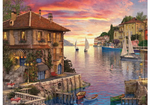 Middellandse haven - 1000 stukjes