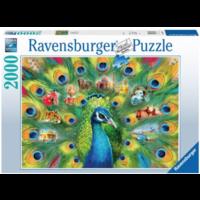 thumb-Land van de pauw - puzzel van 2000 stukjes-2