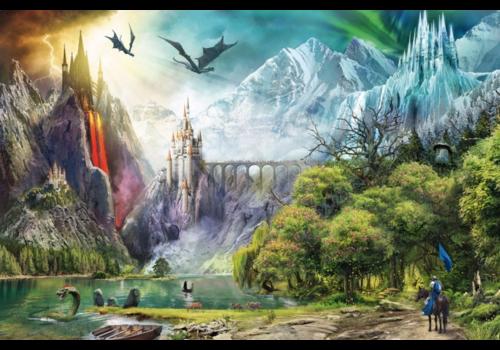 Ravensburger Le royaume des dragons - 3000 pièces