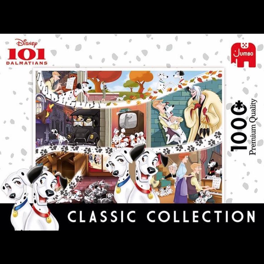101 Dalmatiërs - 1000 pièces - puzzle-2