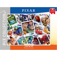 thumb-Disney collage Pixar - puzzel van 1000 stukjes-1
