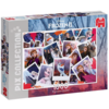Jumbo Disney collage de Frozen - puzzle de 1000 pièces