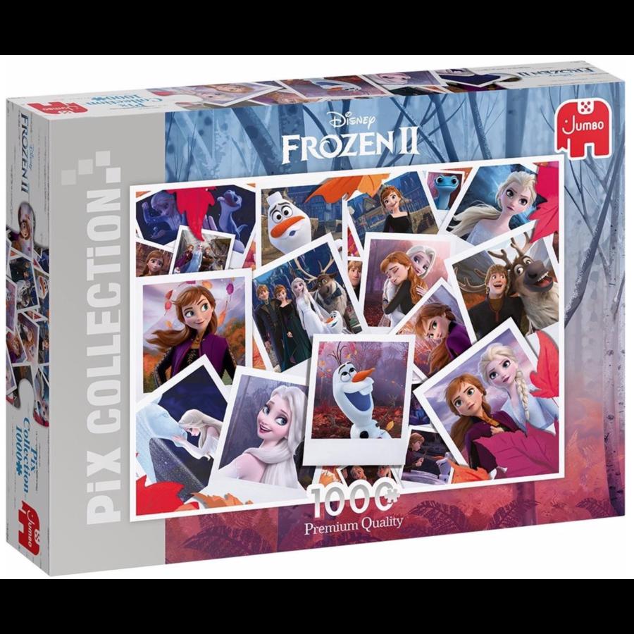 Disney collage de Frozen - puzzle de 1000 pièces-1