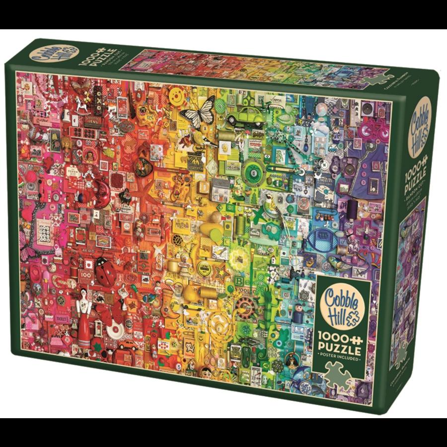 Regenboog- puzzel van  1000 stukjes-2