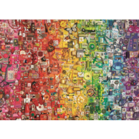 thumb-Regenboog- puzzel van  1000 stukjes-1