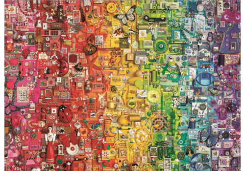 Regenboog - 1000 stukjes