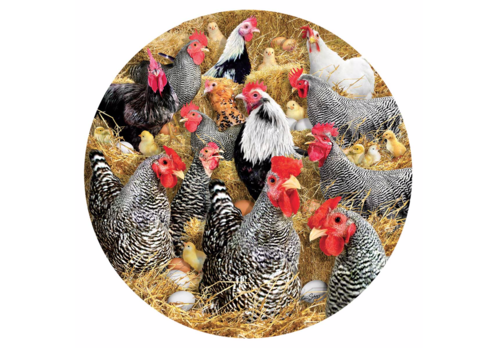 SUNSOUT Kippen en kuikens - 1000 stukjes