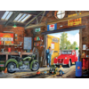 SUNSOUT In daddy's garage -  jigsaw puzzle of 300 XXL pieces
