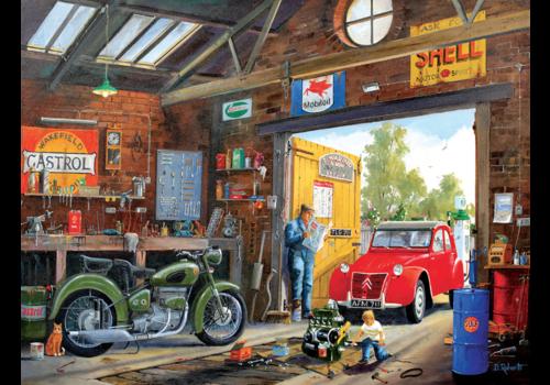In daddy's garage - 300 XXL pieces