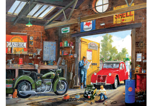 In papa's garage  - 300 XXL stukjes