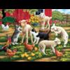 SUNSOUT Des agneaux en liberté  - puzzle de 300 XXL pièces