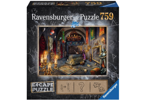 Escape Puzzle 6: Vampire Castle - 759 pieces