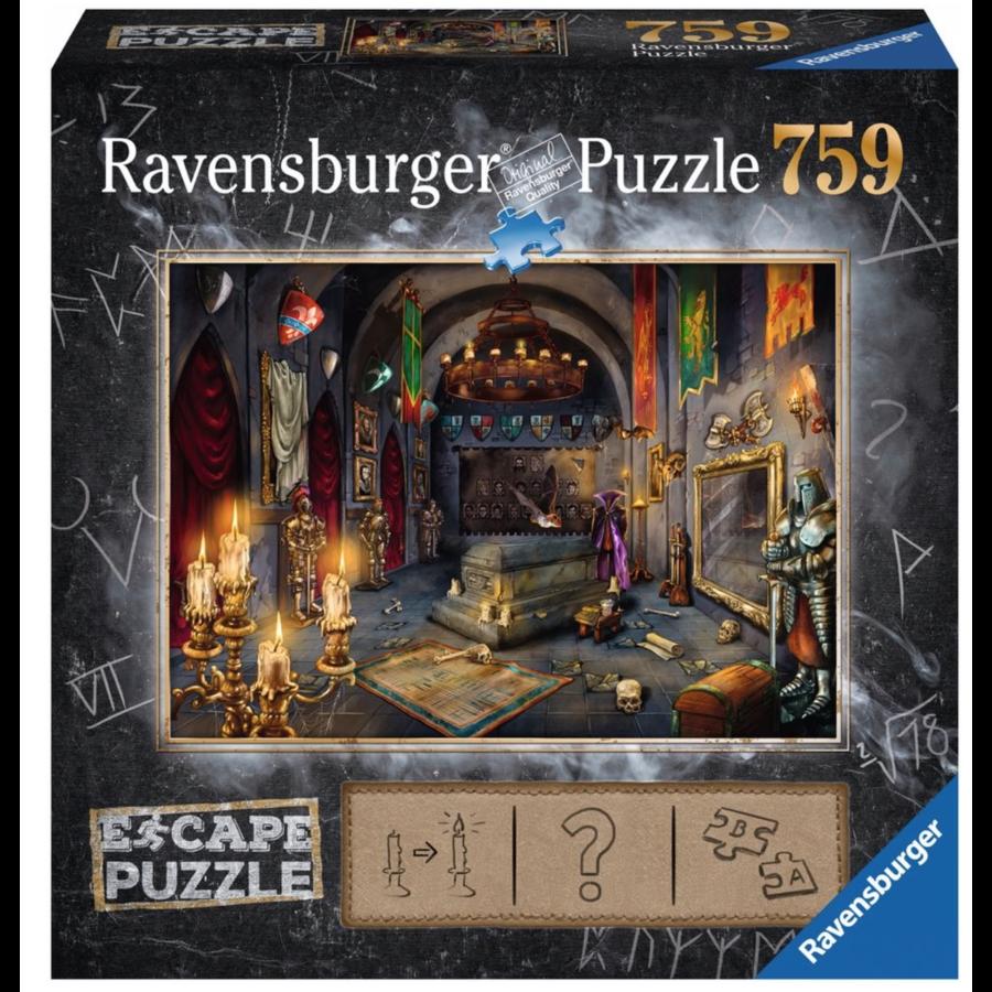 Escape Puzzel 6: Kasteel van de vampier - 759 stukjes-1