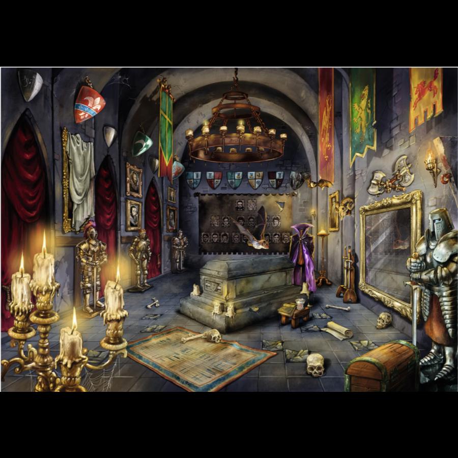 Escape Puzzel 6: Kasteel van de vampier - 759 stukjes-2
