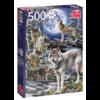 Jumbo Wolven in de winter   - puzzel van 500 stukjes