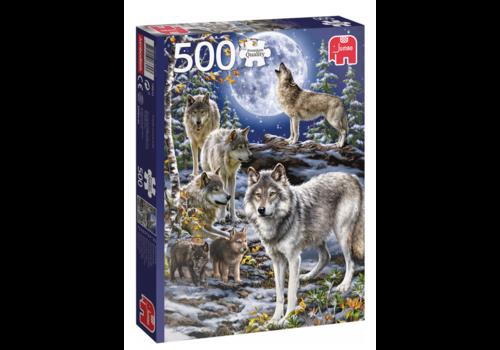 Jumbo Les loups en hiver - 500 pièces