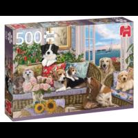 thumb-Viervoeter vriendjes   - puzzel van 500 stukjes-1