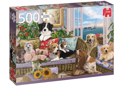 Jumbo Furry friends - 500 pieces