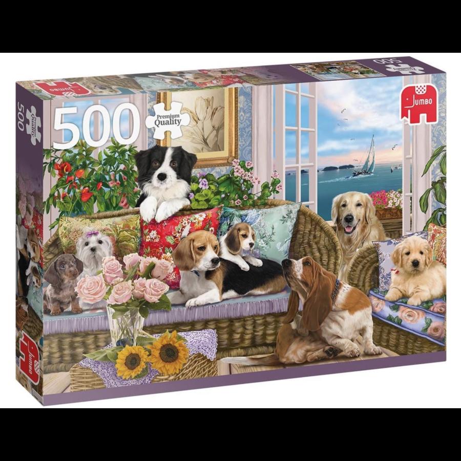 Viervoeter vriendjes   - puzzel van 500 stukjes-1