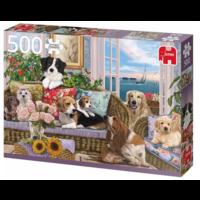 thumb-Viervoeter vriendjes   - puzzel van 500 stukjes-2