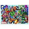 Educa Alle superhelden van Marvel - puzzel van 1000 stukjes