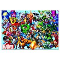 thumb-Alle superhelden van Marvel - puzzel van 1000 stukjes-1