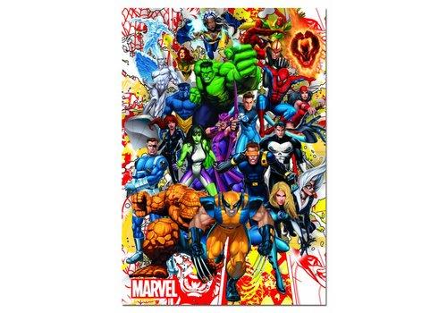 De superhelden van Marvel - 500 stukjes