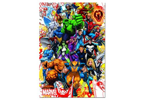 The superheroes of Marvel - 500 pieces