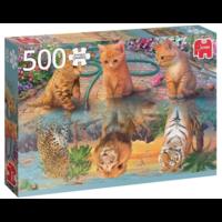 thumb-De droom van een kitten - puzzel van 500 stukjes-1