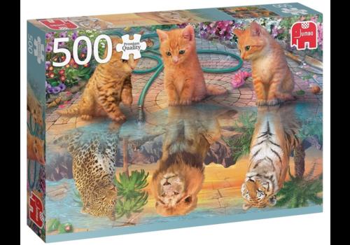 Jumbo De droom van een kitten - 500 stukjes