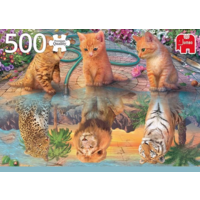 thumb-De droom van een kitten - puzzel van 500 stukjes-2