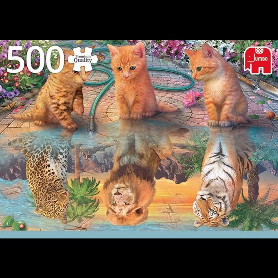 De droom van een kitten - puzzel van 500 stukjes-2