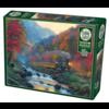 Cobble Hill Smoky Train - puzzel van 1000 stukjes