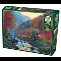 thumb-Smoky Train - puzzel van 1000 stukjes-1