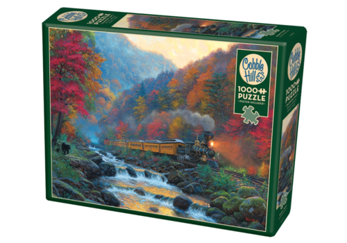 Cobble Hill Smoky Train - 1000 pieces