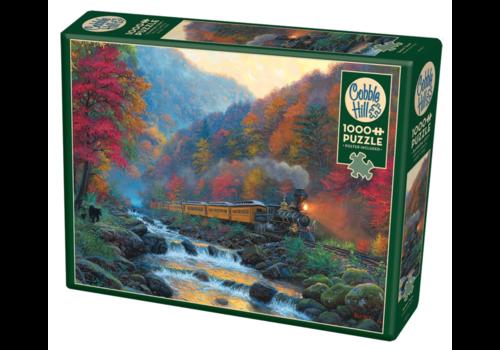Cobble Hill Smoky Train - 1000 stukjes